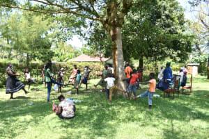 The Water Project: Maraba Community, Nambwaya Spring -  A Fun Icebreaker