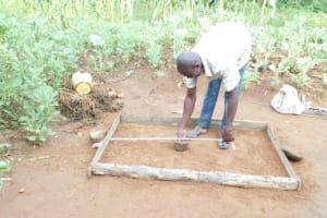 The Water Project: Maraba Community, Nambwaya Spring -  Casting Of Sanitation Platforms