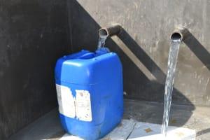 The Water Project: Maraba Community, Nambwaya Spring -  Clean Water Flows