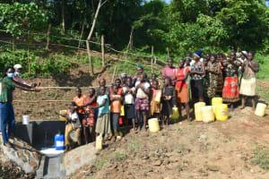 The Water Project: Maraba Community, Nambwaya Spring -  Handing Over Ceremony