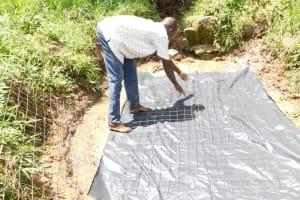 The Water Project: Maraba Community, Nambwaya Spring -  Laying The Foundation