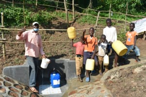 The Water Project: Maraba Community, Nambwaya Spring -  Celebrating The Spring