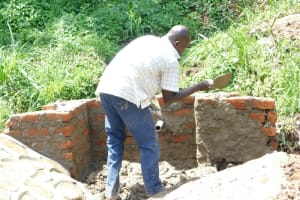 The Water Project: Maraba Community, Nambwaya Spring -  Cementwork