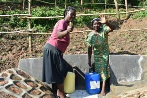 The Water Project: Maraba Community, Nambwaya Spring -  Happy Day
