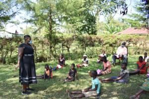 The Water Project: Maraba Community, Nambwaya Spring -  Team Leader Emmah In Action