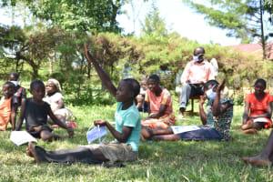 The Water Project: Maraba Community, Nambwaya Spring -  We Had Lots Of Participation