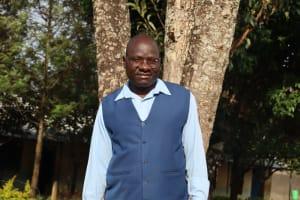 The Water Project: Ivakale Primary School & Community - Rain Tank 1 -  Headteacher Domnic Lando