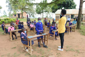 The Water Project: Kapkoi Primary School -  Active Participation At The Training