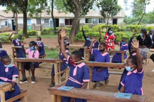 The Water Project: Kapkoi Primary School -  Active Participation