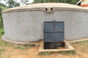 The Water Project: Kapkoi Primary School -  Completed Rain Water Tank