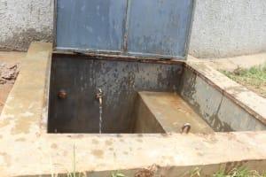The Water Project: Kapkoi Primary School -  Flowing Water