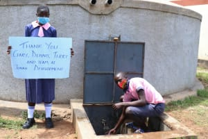 The Water Project: Kapkoi Primary School -  Thank You