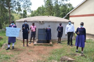 The Water Project: Kapkoi Primary School -  Cheers To Clean Water