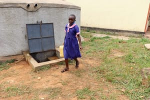 The Water Project: Kapkoi Primary School -  Clean Water Ready For Use