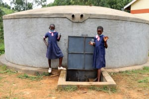 The Water Project: Kapkoi Primary School -  Drinking Water Is Now Clean And Accessible