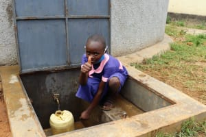 The Water Project: Kapkoi Primary School -  Thumbs Up For Clean Water