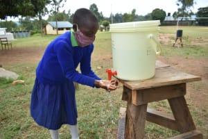 The Water Project: Boyani Primary School -  Handwashing Practicals