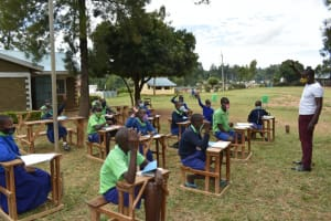 The Water Project: Boyani Primary School -  Lots Of Participation