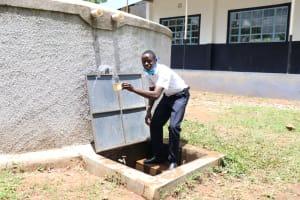 The Water Project: Friends School Shivanga Secondary -  Making A Splash
