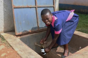 The Water Project: Jinjini Friends Primary School -  It Was A Happy Moment