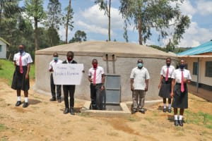 The Water Project: Kinu Friends Secondary School -  Thank You Legacy Plumbing