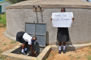 The Water Project: Kinu Friends Secondary School -  Thank You