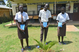 The Water Project: Friends Kisasi Secondary School -  Elected Health Club Leaders