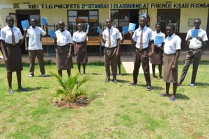 The Water Project: Friends Kisasi Secondary School -  Group Photo Of Students