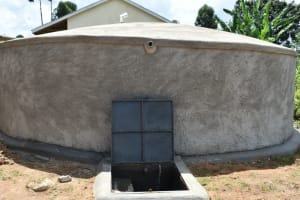 The Water Project: Friends Kisasi Secondary School -  Complete Rain Tank