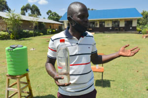 The Water Project: Friends Kisasi Secondary School -  Solar Disinfection Activity
