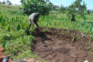 The Water Project: Mahira Community, Anunda Spring -  Excavation