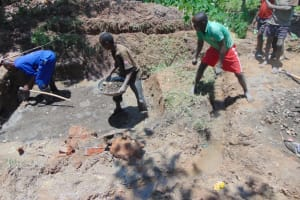 The Water Project: Nguvuli Community, Busuku Spring -  Laying Springs Foundation