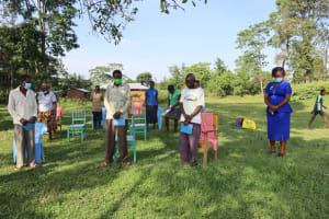 The Water Project: Nguvuli Community, Busuku Spring -  Moment Of Silence To Honor Those Lost In The Pandemic