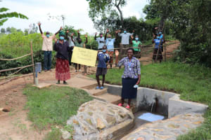 The Water Project: Nguvuli Community, Busuku Spring -  Thank You