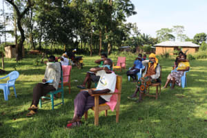 The Water Project: Nguvuli Community, Busuku Spring -  Sneeze And Cough Into The Elbow
