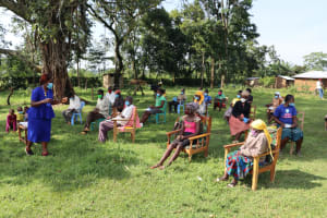 The Water Project: Nguvuli Community, Busuku Spring -  Training Underway