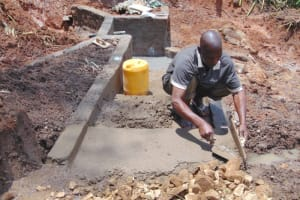 The Water Project: Indulusia Community, Yakobo Spring -  Stairs Construction
