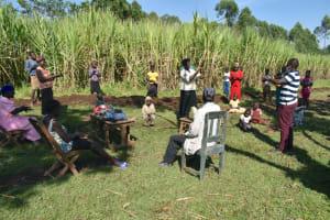 The Water Project: Indulusia Community, Yakobo Spring -  Handwashing Demonstration