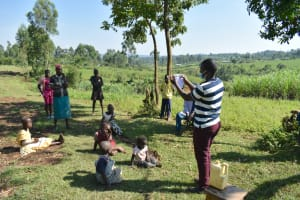 The Water Project: Indulusia Community, Yakobo Spring -  Mask Making Tutorial