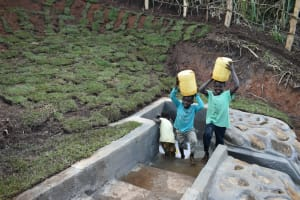 The Water Project: Indulusia Community, Yakobo Spring -  Smiles Brought By Clean Water