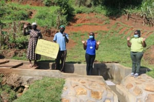 The Water Project: Indulusia Community, Yakobo Spring -  Thank You