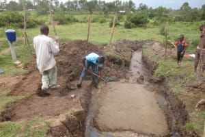 The Water Project: Makale Community, Luyingo Spring -  Laying Spring Foundation