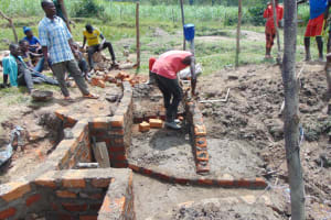 The Water Project: Makale Community, Luyingo Spring -  Stairs Construction