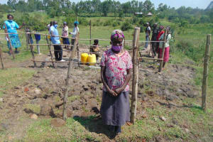 The Water Project: Makale Community, Luyingo Spring -  Water User Committee Member After The Training