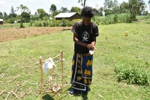The Water Project: Shitavita Community, Patrick Burudi Spring -  Participant Washing Hands