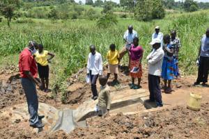 The Water Project: Shitavita Community, Patrick Burudi Spring -  Site Maintenance Training