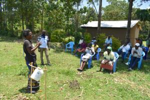 The Water Project: Shitavita Community, Patrick Burudi Spring -  Trying Ten Steps Of Handwashing