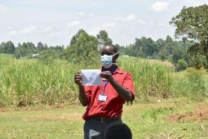 The Water Project: Shitavita Community, Patrick Burudi Spring -  Homemade Face Mask Tutorial