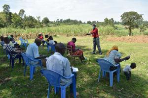 The Water Project: Shitavita Community, Patrick Burudi Spring -  Training