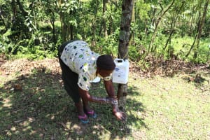 The Water Project: Lukala C Community, Livaha Spring -  Handwashing